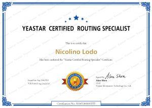 Certificazione Yeastar Certified Routing Specialist