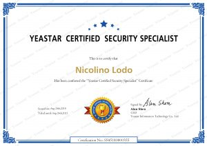 Certificazione Yeastar Certified Security Specialist