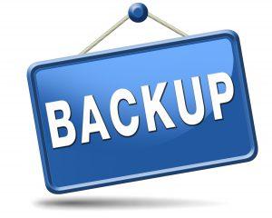 backup dei dati e impostazioni