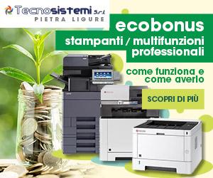 Ecobonus 2020 su stampanti e fotocopiatrici multifunzione